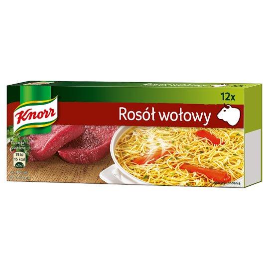 Knorr Rosół wołowy 120 g (12 kostek)