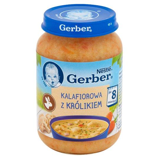 Gerber Cauliflower Soup with Rabbit after 8 Months Onwards 190 g