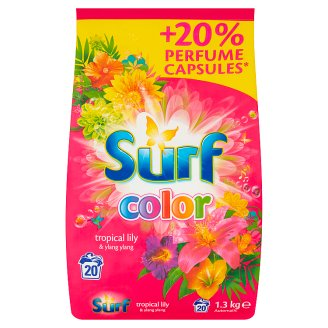 Surf Color Tropical Lily & Ylang Ylang Washing Powder 1.3 kg (20 Washes)