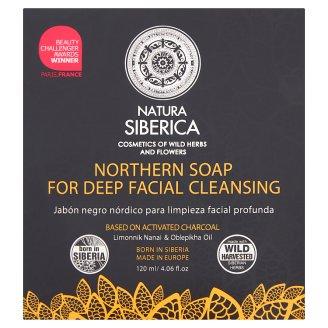 Natura Siberica Północne mydło do głębokiego oczyszczania twarzy 120 ml