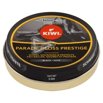 Kiwi Black Shoe Polish 50 ml