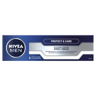 NIVEA MEN Protect & Care Krem do golenia pielęgnujący 100 ml