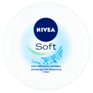NIVEA Soft Refreshingly Soft Moisturizing Cream 200 ml