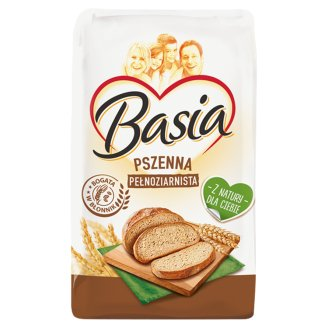 Basia Wholemeal Wheat Flour 1850 Type 1 kg
