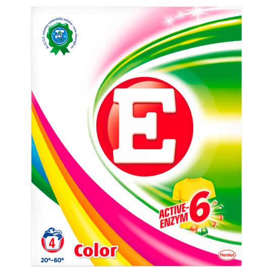 E Color Washing Powder 280 g (4 Washes)