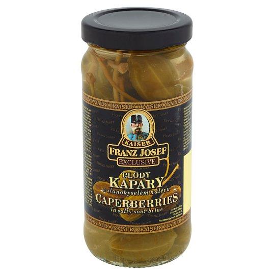 Kaiser Franz Josef Exclusive Kapary jagodowe w słono-kwaśnej zalewie 250 g