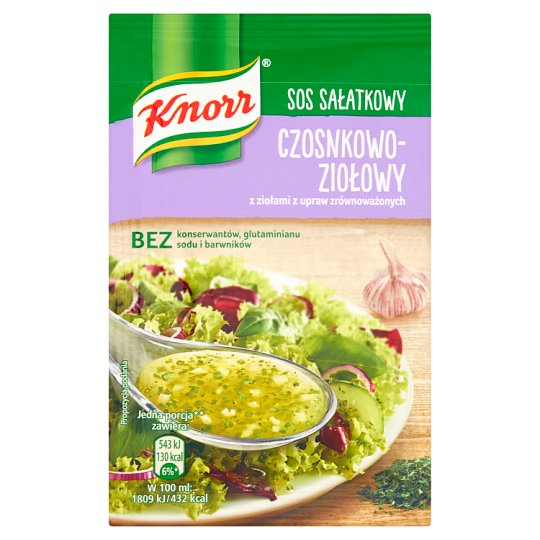 Knorr Garlic and Herb Salad Dressing 8 g