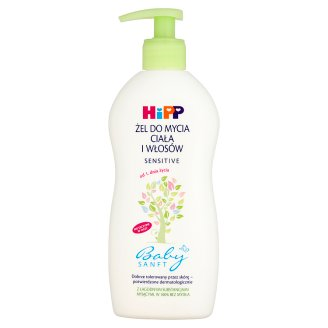 HiPP Babysanft Sensitive Body and Hair Shower Gel from 1 Day of Life 400 ml