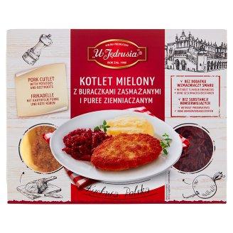 U Jędrusia Kuchnia Polska Meat Patty with Potatoes and Beetroots 400 g