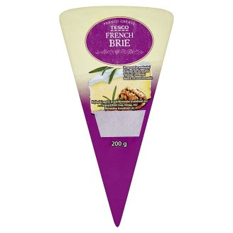 Tesco French Brie Cheese 200 g