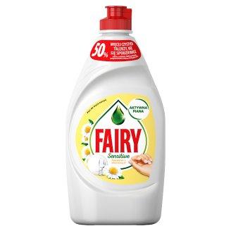 Fairy Sensitive Chamomile & Vit E Płyn do mycia naczyń 450 ml