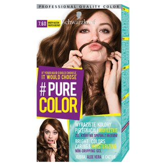 Schwarzkopf #Pure Color Hair Colorant Frosted Chestnut 7.60