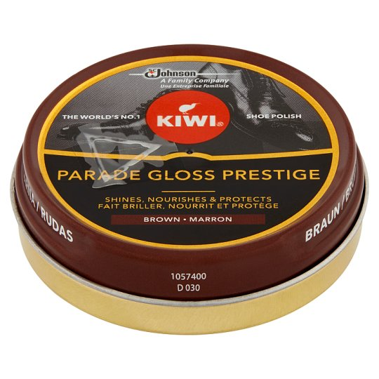 Kiwi Brown Shoe Polish 50 ml