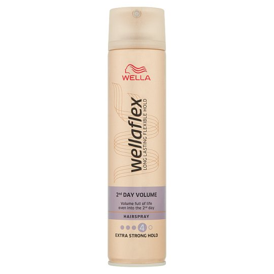Wella Wellaflex 2nd Day Volume Lakier do włosów 250 ml