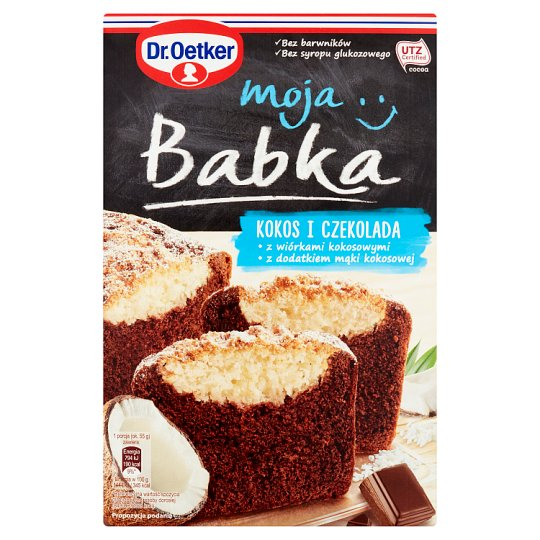 Dr. Oetker Moja Babka kokos i czekolada 462 g