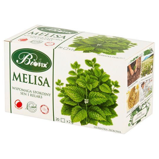Bifix Melissa Herbal Tea 40 g (20 Tea Bags)