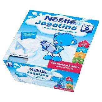 Nestlé Jogolino Natural Flavour Dessert after 6 Months Onwards 400 g (4 Pieces)