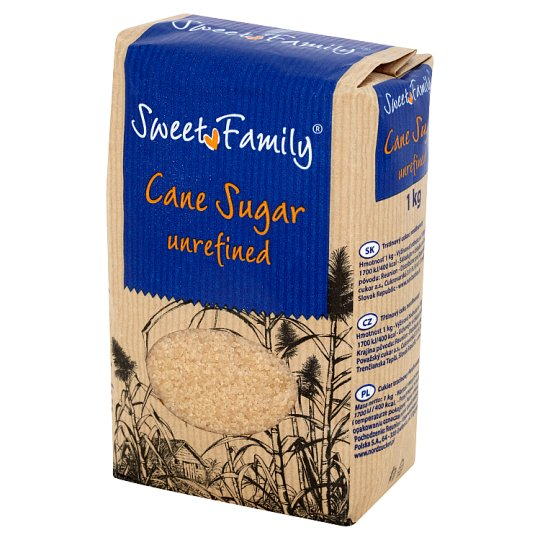 Sweet Family Unrefined Cane Sugar 1 kg