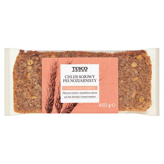 Tesco Chleb sojowy pełnoziarnisty 450 g