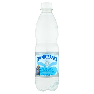 Piwniczanka Naturalna woda mineralna niskonasycona CO2 0,5 l