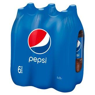 Pepsi Cola Carbonated Drink 6 x 2 L