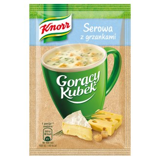 Knorr Gorący Kubek Cheese Soup with Croutons 22 g