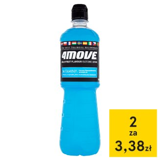 4Move Multifruit Flavour Isotonic Drink 0.75 L