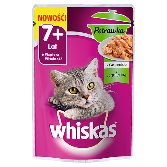 Whiskas Ragout with Lamb Complete Cat Food 85 g