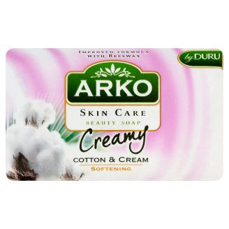 Arko Skin Care Cotton and Cream Softening Beauty Soap 90 g