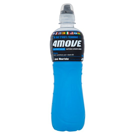 4Move Multifruit Isotonic Sports Drink 500 ml