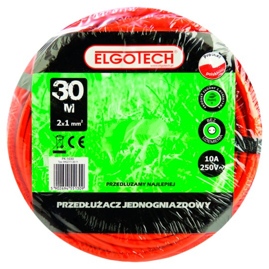 Elgotech Extension Cord 30 m