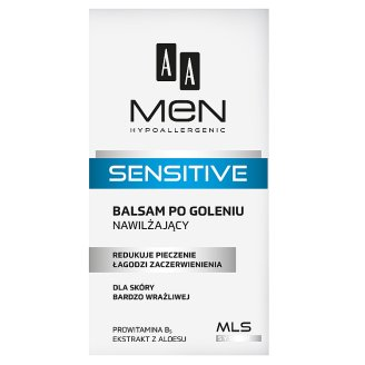 AA Men Sensitive After Shave Balm Moisturizing For Very Sensitive Skin 100ml