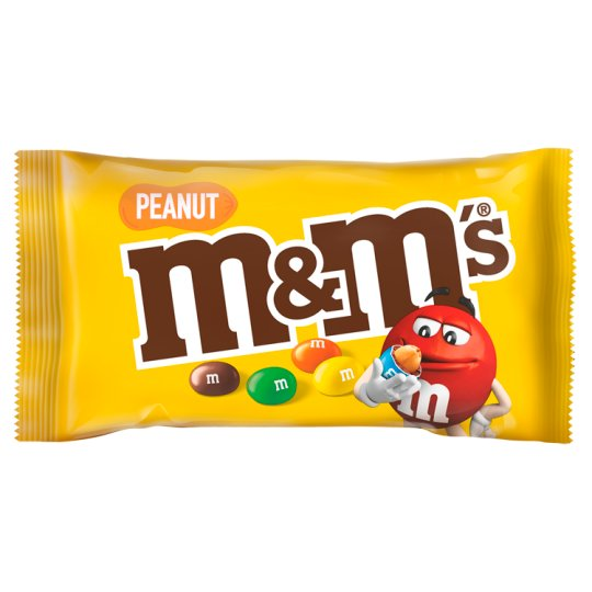 M&M's Peanuts Covered with Milk Chocolate 45 g