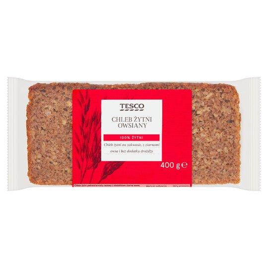Tesco Chleb żytni owsiany 400 g