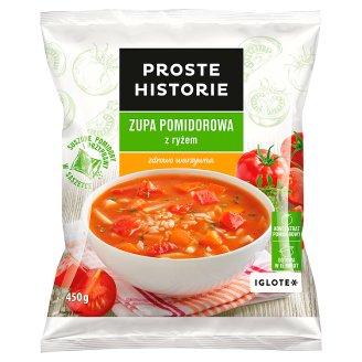 Proste Historie Zupa pomidorowa z ryżem 450 g