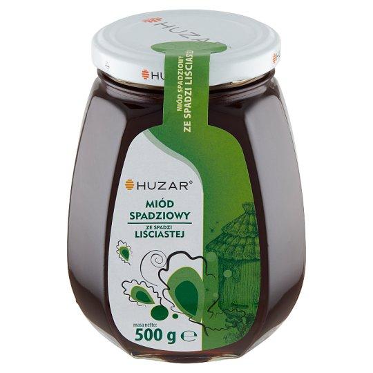 Huzar Miód pszczeli spadziowy ze spadzi liściastej 500 g