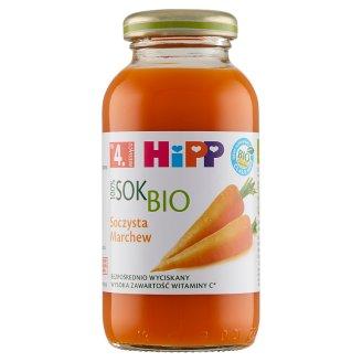 HiPP BIO Soczysta marchew Sok 100% po 4. miesiącu 0,2 l