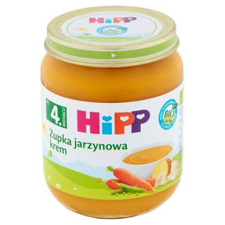 HiPP BIO Soup Vegetable Cream after 4. Months Onwards 125 g
