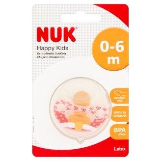 NUK Happy Kids Smoczek uspokajający 0-6 m