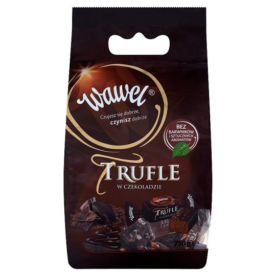 Wawel Truffles in Chocolate Coated Candies with Rum Flavour 750 g