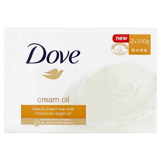 Dove Cream Oil Kremowa kostka myjąca 2 x 100 g