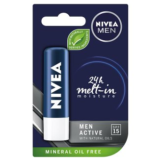 NIVEA MEN Active Care Caring Lip Balm 4.8 g
