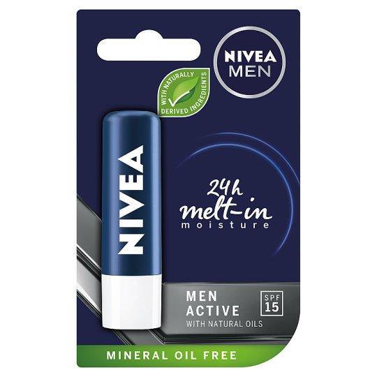 NIVEA MEN Active Care Pomadka do ust 4,8 g