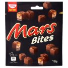 Mars Bites Nougat Bars with Caramel Covered with Milk Chocolate 136 g
