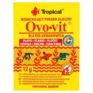 Tropical Ovo-vit Wzmacniający pokarm jajeczny dla ryb akwariowych płatki 12 g