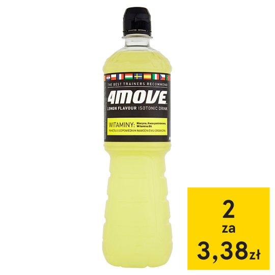 4Move Lemon Flavour Isotonic Drink 0.75 L