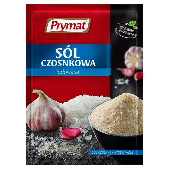 Prymat Sól czosnkowa jodowana 40 g
