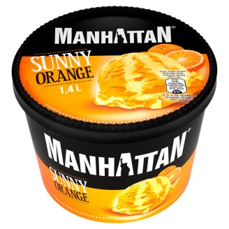 Manhattan Classic Sunny Orange Ice Cream 1.4 L