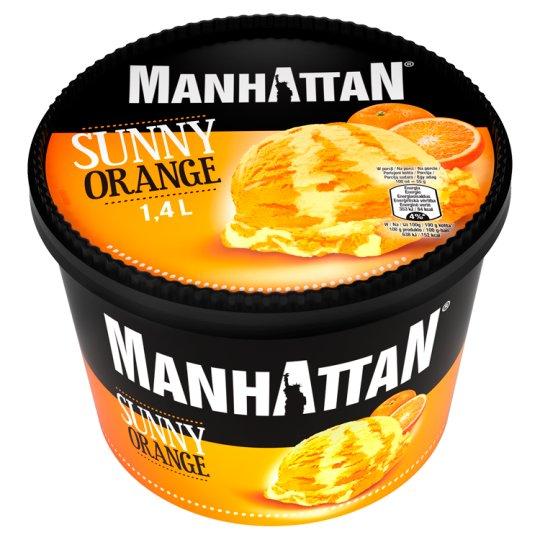 Manhattan Classic Sunny Orange Ice Cream 1400 ml