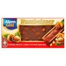 Alpen Gold Nussbeisser Czekolada mleczna z całymi orzechami laskowymi 100 g